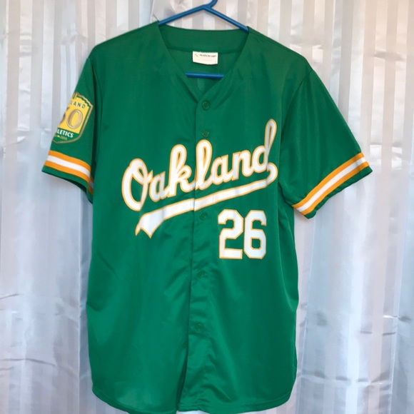 new style 06aec 17e5f Oakland Athletics Matt Chapman 50th Anniversary